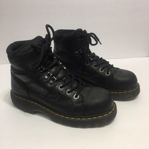 Dr. Martens Steel Toe Industrial Work Boots. 8
